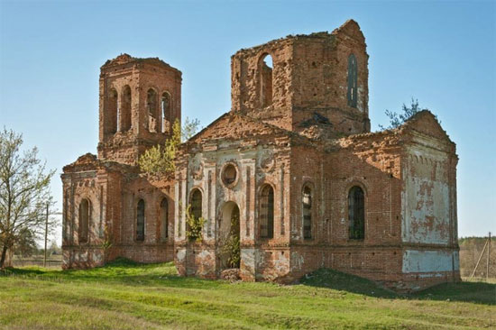 Крутчик. Церковь Иоанна Богослова