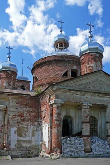 Николаевская церковь г.Лебедяни