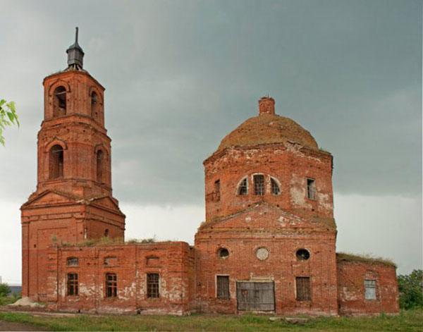 Покровская церковь с.Борки голиково тож